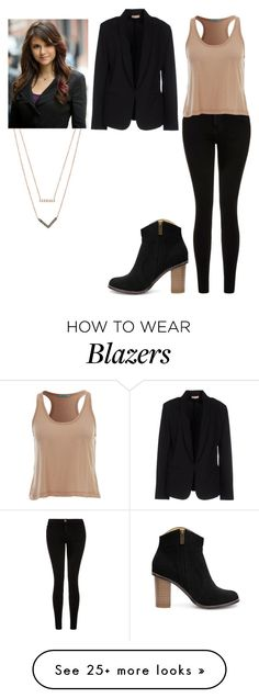 """TVD Elena Gilbert"" by madeinchina03 on Polyvore featuring Current/Elliott, Maesta, Michael Kors, women's clothing, women's fashion, women, female, woman, misses and juniors"