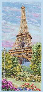 Anchor Counted Cross Stitch Kit - The Eiffel Tower (Paris) | eBay
