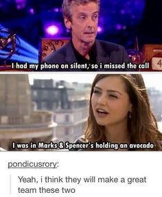 Peter Capaldi and Jenna-Louise Coleman on when they got the call to be on DW