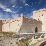 El Castillo de Arévalo es una fortificación del siglo XV, localizada en Arévalo, al norte de la Provincia de Ávila. La fortaleza se ubica entre los ríos Adaja y Arevalillo, los cuales le sirven de fosos defensivos. Fue mandada reconstruir en el siglo XV por orden de Álvaro de Zúñiga, duque de Béjar.