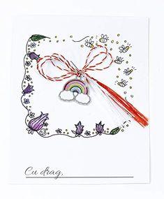 Martisor curcubeu, 1 Martie,: Amazon.co.uk: Handmade Handmade Products, Playing Cards, Amazon, Amazons, Riding Habit, Playing Card Games, Game Cards, Playing Card