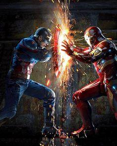 Capitán América VS Iron Man                                                                                                                                                     Más