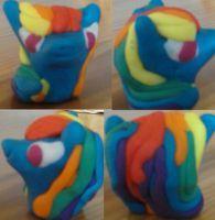Rainbow Dash Modeline Figurine by Madziulka200