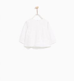 ZARA - KIDS - EMBROIDERED ROMANTIC BLOUSE