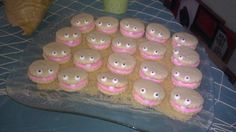 Clam cookies for Kennedy's Under The Sea birthday party