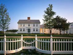 White picket fence   Green acres   Pennsylvanian dutch style  