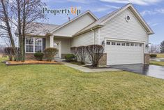 Perfect retirement ranch home in a 55-plus community for sale in Huntley, IL