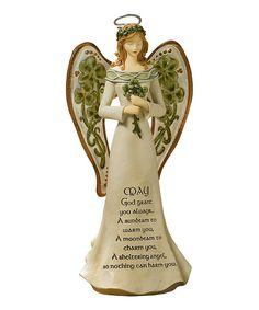 Clover Angel Figurine