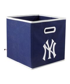 Take a look at this Blue New York Yankees Storage Drawer by MyOwnersBox on #zulily today!