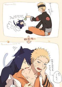 Sasunaru, Naruko Uzumaki, Narusasu, Boruto, Naruto And Sasuke Kiss, Naruto Cute, Naruto Shippuden Sasuke, Naruto Kakashi, Anime Naruto