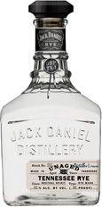 Jack Daniels Unaged Rye, tThe first new grain bill from Jack Daniels since Prohibition - packaging design by Stranger & Stranger. Buy it on BevMo