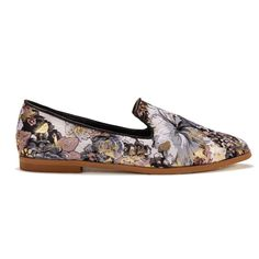 Floral Print Flat Shoes - US$33.95 -YOINS