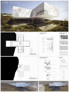 Cool architectural presentation board.