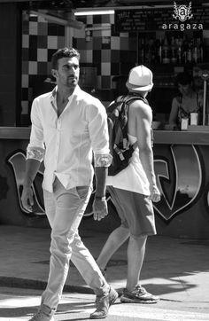 summer look man http://www.aragaza.com/camisas