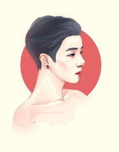 Kim Jinhwan by g-rape-fruit on DeviantArt