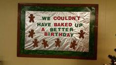 December Birthday Board December Birthday, Birthday Board, Bulletin Boards, Frame, Ideas, Decor, Birthday Display Board, Decoration, Decorating