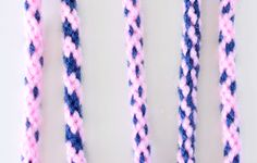 8 Strand Kumihimo Patterns by Color Placement