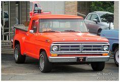 UT Orange Ford Truck by TheMan268.deviantart.com on @DeviantArt