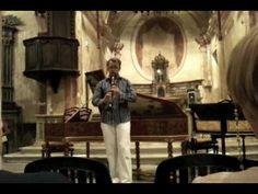 Dan Laurin - Les Folies d'Espagne - Marin Marais - Voice Flute Bressan by Luca de Paolis