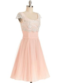 Breathtaking Belle Dress in Rose | Mod Retro Vintage Dresses | ModCloth.com