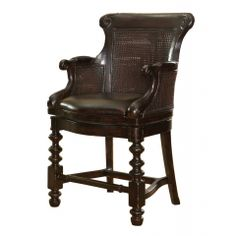 Dunkirk Swivel Counter Stool, Tommy Bahama Home, Kingstown Collection