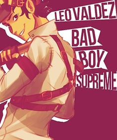 Bad boy supreme. Make that extra spicy for me please but he is the best
