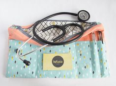 Stethoscope Pouch Stethoscope Bag Stethoscope Case for by byKusia