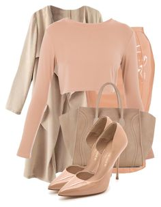 """""""Untitled #2734"""" by xirix ❤ liked on Polyvore featuring CÉLINE and Kurt Geiger"""