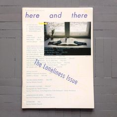 Here and there vol. 8 (2008) by Nakako Hayashi via @Dion_Star