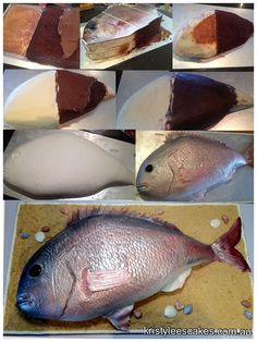 """Armadillo fish cake. """"Nothin' like a good piece of ass."""""""
