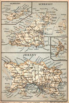 Channel Islands: Jersey, Guernsey, Alderney & Sark.