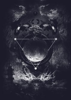 Darkside Of Nature - Evil is a word used by the ignorant and the weak. The darkside is about survival. It's about unleashing your inner power. It glorifies the strength of the individual. Wattpad Background, Amoled Wallpapers, Satanic Art, Triangle Art, Arte Obscura, Dark Art Drawings, Geometric Art, Cool Wallpaper, Sacred Geometry