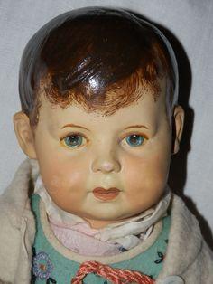 Très Rare, Antique Poupée De Chiffon probablement klötzer? pour 1930! Magnifique! Super   Antiquitäten & Kunst, Antikspielzeug, Puppen & Zubehör   eBay!
