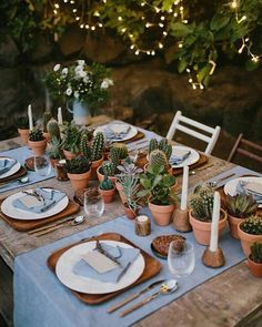 "3,172 curtidas, 32 comentários - Succulent City (@succulentcity) no Instagram: ""This table setting is so so soooo dreamyyy via @cactumania.mx⠀ Follow us @succulentcity ⠀…"""