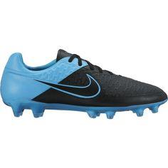 buy online e619a 7e2b3 Nike Magista Orden Leather FG - Black Turquoise Blue
