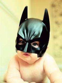 Batman when he was still a baby