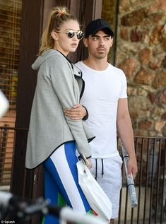 Close: Gigi Hadid and Joe Jonas were spotted together in LA for the second day in a row on Thursday