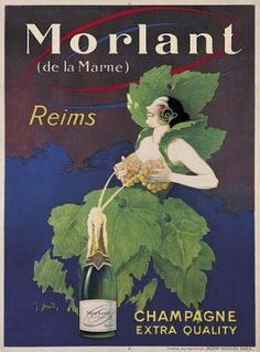 Vintage Wine Ad... Back when people knew how to design!