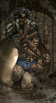 Batman vs The Thing