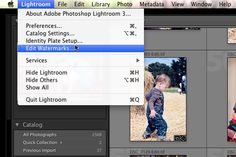 How to create a Watermark in Lightroom 3    Thanks Jodi/Erin at MCP Actions.. YOU ROCK!!!