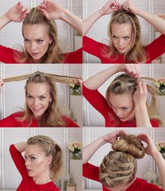 Double Waterfall Triple French #Braid