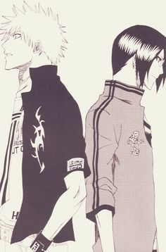 Bleach ~~ Ichigo & Uryu