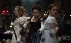 Watch the first trailer for Pride and Prejudice and Zombies starring Lily James and Matt Smith