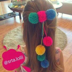 Diy Baby Headbands, Diy Headband, Kids Hair Bows, Girls Bows, Pom Pom Curtains, Baby Girl Hair Accessories, Boutique Hair Bows, Ribbon Hair, Disney Diy