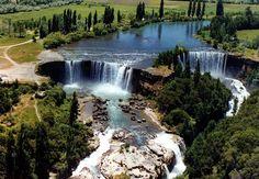 Cachoeira Laja, Chile