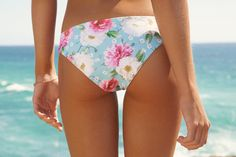 Seamless Bottom in Dreamtime Floral