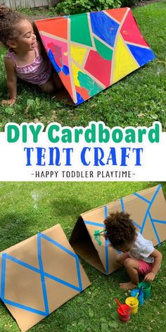 Summer Activities For Toddlers, Kids Learning Activities, Infant Activities, Science Activities, Crafts For Kids, Toddler Learning, Teaching Ideas, Tent Craft, Magic For Kids