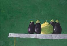 Julio Larraz (Cuban, b. 1944), The Moorish Guard, 1978. Oil on canvas, 122 x 177.5 cm.