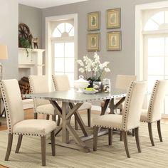 Dise os de mesas para comedores modernos comedor for Wayfair comedores