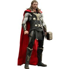 Hot Toys Thor The Dark World 1/6 Scale Collectible Figure Thor ** Find out more about the great product at the image link. (This is an affiliate link) #ActionFiguresStatues